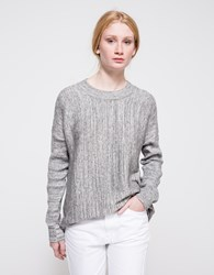 Just Female Italy Knit Blouse Grey