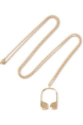 J.W.Anderson Gold Plated Necklace