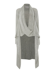 Mary Portas Chunky Waterfall Cardigan Oatmeal