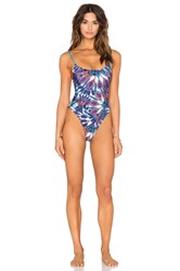 Minkpink Flash Back One Piece Blue