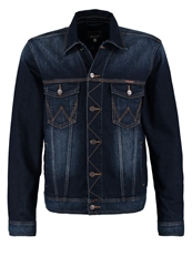 Wrangler Denim Jacket Tough Talking Blue Denim