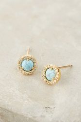 Anthropologie Summer Moon Posts Turquoise