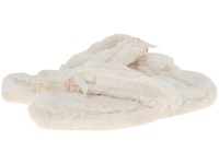 Bedroom Athletics Erica Spa Thong Cream Women's Slippers Beige
