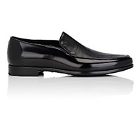 Giorgio Armani Men's Venetian Loafers Blue