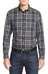 Men's Brooks Brothers Trim Fit Long Sleeve Plaid Sport Shirt