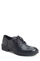 Born 'Marlon' Plain Toe Derby Men Black