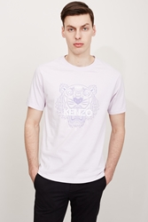 Kenzo Tiger Single Jersey T Shirt Lavender