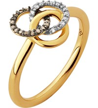 Links Of London Treasured 18Ct Gold And Diamond Ring