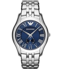 Hugo Boss Ar1789 New Valente Stainless Steel Watch Blue