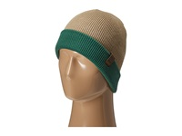 686 Waffe Roll Up Beanie Khaki Knit Hats