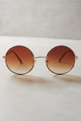 Anthropologie Hille Sunglasses Beige