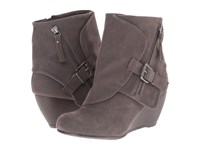 Blowfish Bilocate Grey Fawn Pu Women's Dress Zip Boots Gray