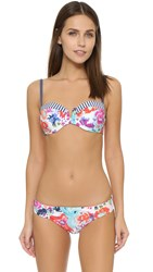 Splendid Full Bloom Underwire Bikini Top Multi