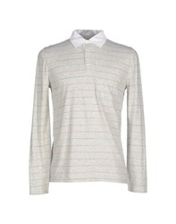 Band Of Outsiders Topwear Polo Shirts Men Light Grey