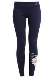 Desigual Laguna Leggings Navy Blue