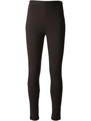 Givenchy Panelled Leggings Brown