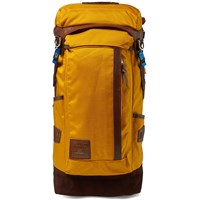 Master Piece Potential Leather Trim Backpack Yellow