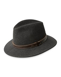 Bailey Of Hollywood Kinnon Wide Brim Fedora Black Mix