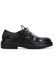 Marsell Marsell Rubber Sole Derby Shoes Black