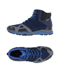 The North Face Footwear High Tops And Trainers Men Dark Blue