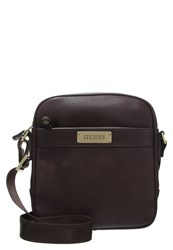 Guess Across Body Bag Dark Brown