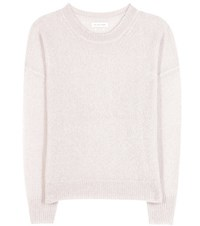 Etoile Isabel Marant Clifton Mohair And Wool Blend Sweater White