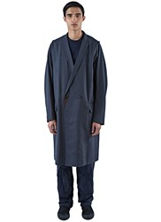 Kolor Long Double Breasted Coat Grey