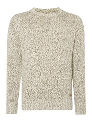 Army And Navy Ruskin Crew Neck Jumper Oatmeal