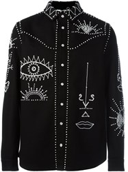 Valentino Embellished Shirt Black