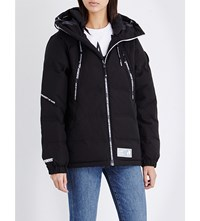 Aape By A Bathing Ape Padded Shell Puffa Jacket Black