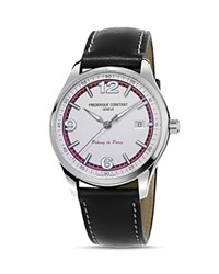Frederique Constant Vintage Rally Peking To Paris Watch 40Mm White Black