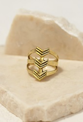 Forever 21 Emerald Duv Daydream Ring Gold