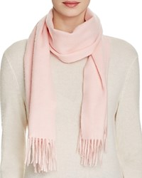 Bloomingdale's C By Solid Cashmere Scarf Ballet