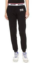 Moschino Gym Sweatpants Black