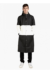 Men's Striped Long Stockholm Raincoat