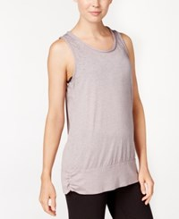 Gaiam Ambrosia Yoga Tank Top Steel