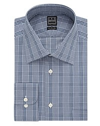 Ike Behar Glen Plaid Classic Fit Dress Shirt