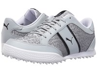 Puma Monolite Cat Mesh Quarry White Black Women's Golf Shoes