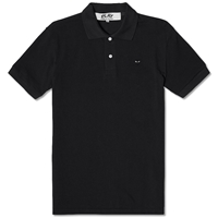 Comme Des Garcons Play Little Black Heart Polo