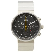 Braun Bn0095 Chronograph Watch Silver