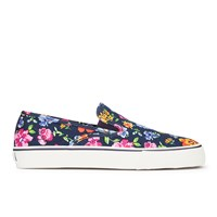 Polo Ralph Lauren Men's Mytton Ne Slip On Trainers Navy Floral
