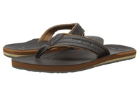Quiksilver Carver Nubuck Demitasse Solid Men's Sandals Brown