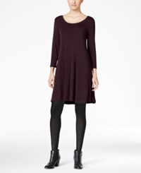Styleandco. Style Co. Swing Dress Only At Macy's Dried Plum