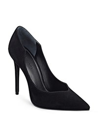 Kendall And Kylie Kendall Kylie Abi Suede Single Sole Pointed Toe Pumps Black