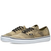 Vans Authentic Camo Jacquard Green