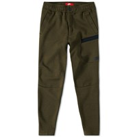 Nike Tech Fleece Button Pant Green