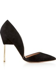 Kurt Geiger London Bond Suede Stilettos Black