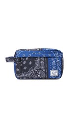 Herschel Chapter Travel Kit Navy Black Bandana
