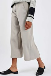 Boutique Ring Zip Wide Trouser By Stone