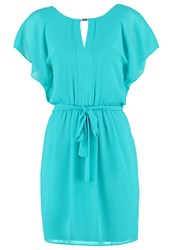Morgan Summer Dress Turquoise Blue